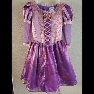 Disney Parks Tangled Rapunzel Princess Dress Gown